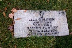 Cecil G. Allison
