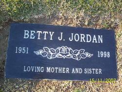 Betty <i>Joyce</i> Jordan