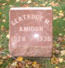 Gertrude M. Amidon