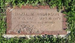 Hazel Martha <i>Hughes</i> Anderson