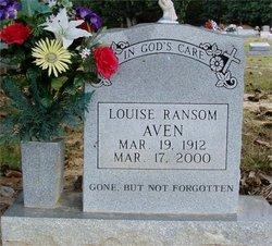 Louise <i>Ransom</i> Aven
