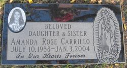 Amanda Rose Mandie Carrillo