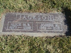Alice Maud <i>Boulter</i> Jackson