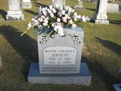 Minnie Chesteen Stevens