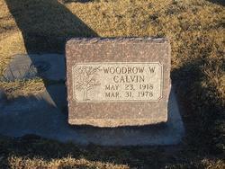 Woodrow Wilson Calvin