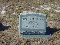 Charity Marietta <i>Freeman</i> Dowda
