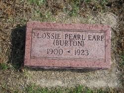 Flossie Pearl <i>Burton</i> Earp