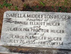 Isabella Middleton Huger