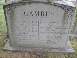 David Tanner Gamble, II