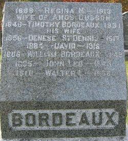 Regina Mary <i>Bordeaux</i> Cusson