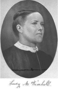Lucy Maria <i>Phillips</i> Kimball
