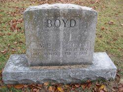 Mary E. F. <i>Branson</i> Boyd