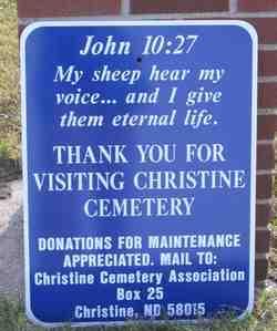Christine Cemetery