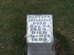 Mary Ann <i>Smallwood</i> Rorabaugh