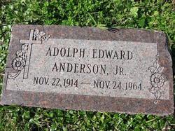 Adolph Edward Anderson, Jr