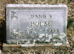 Jennie K <i>Bortzfield</i> House