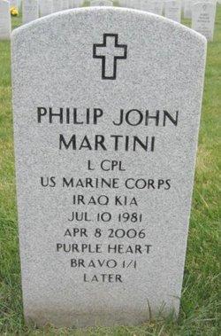 LCpl Philip John Martini