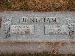 Francis Hannah <i>Christensen</i> Bingham