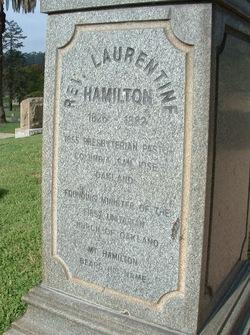 Rev Laurentine Hamilton