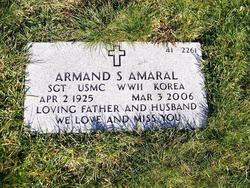 Sgt Armand Amaral