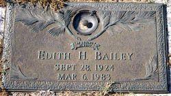 Edith <i>Haywood</i> Bailey