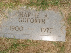 Charles Andrew Charlie Goforth