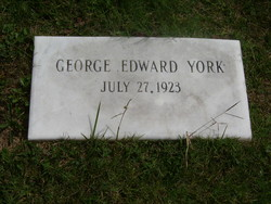 George Edward York