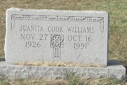 Iva Juanita <i>Cook</i> Williams
