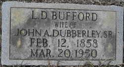 L.D. Miss Dee <i>Bufford</i> Dubberley