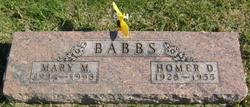 Homer Dean Babbs