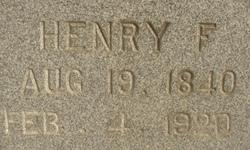 Henry Franklin Burk