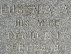 Eugenia A <i>Wagoner</i> Burk