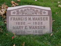 Mary Elizabeth <i>Degarimore</i> Wanser