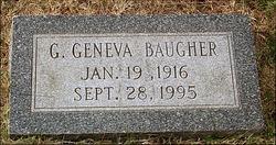 Grace Geneva <i>Slye</i> Baugher