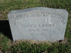 Earnest Albert Brown