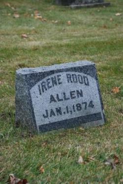 Irene <i>Rood</i> Allen