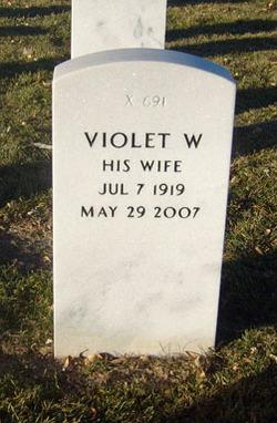 Violet <i>Williamson</i> Kendall