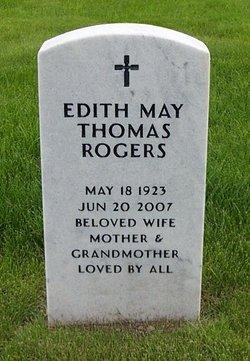 Edith May <i>Thomas</i> Rogers