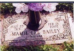 Mamie Lee <i>Hill</i> Bailey
