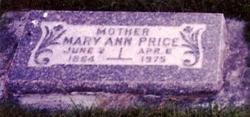 Mary Ann <i>Price</i> Stucki