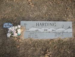 Edna Idell <i>Cook</i> Harding