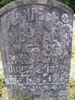 Annie B <i>Morgan</i> Addy