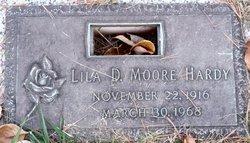 Lila D. <i>Moore</i> Hardy