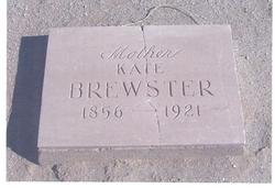 Catherine (Kate) M <i>Savage</i> Brewster