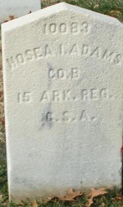 Pvt Hosea I. Adams