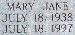 Mary Jane <i>Banks</i> Duff