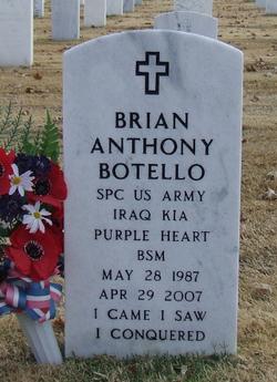 PFC Brian Anthony Botello