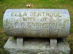 Ella Gertrude <i>Luce</i> Bronson