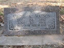Virdie Alvin Watson