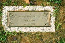Martha Jane <i>Lipford</i> Jackson